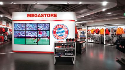 megastore allianz arena offizieller fc bayern fanshop. Black Bedroom Furniture Sets. Home Design Ideas