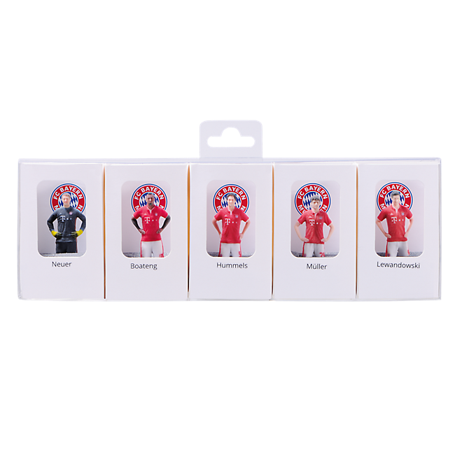 3D Player Figurines Multipack 16/17