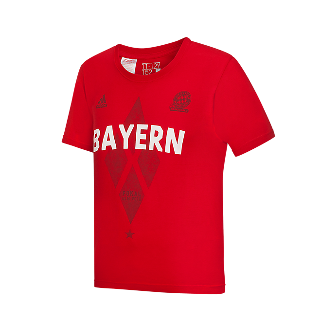 adidas Basketball Kinder T-Shirt Pokal