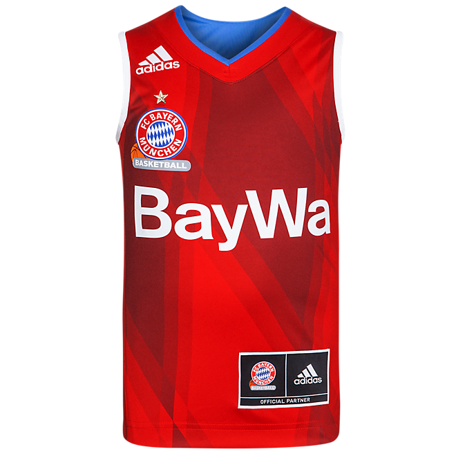 adidas Basketball Shirt Home Kids 16/17