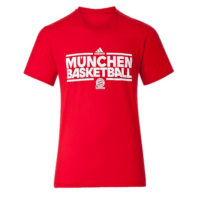 Adidas Basketball T Shirt Offizieller Fc Bayern Fanshop