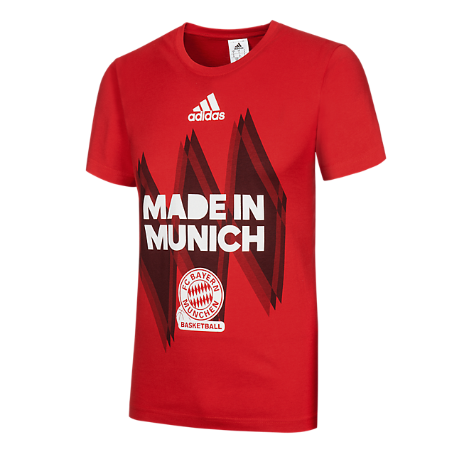 adidas Basketball T-Shirt Made in Munich
