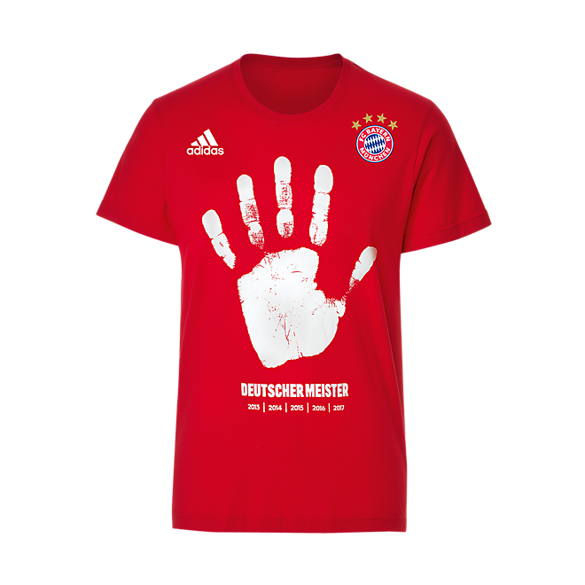 adidas T-Shirt Kids German Champions 2017