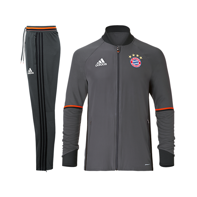 adidas kids tracksuit teamline official fc bayern online. Black Bedroom Furniture Sets. Home Design Ideas