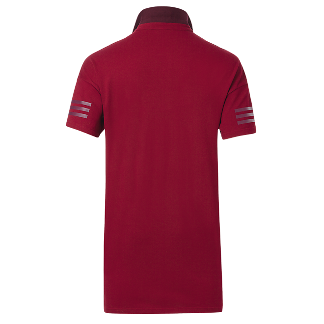 adidas Lifestyle Burgundy Polo