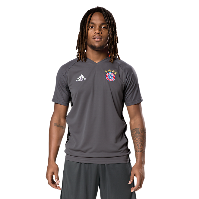 adidas Teamline Trainingsshirt grau