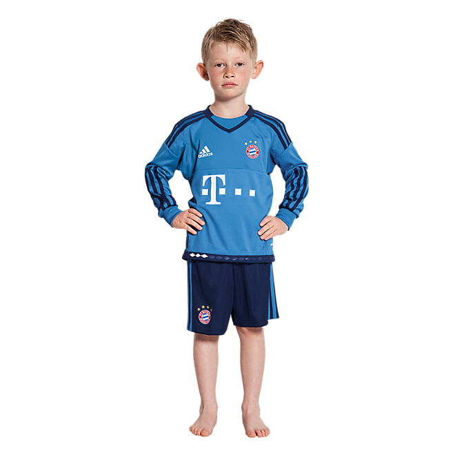 adidas Torwart-Trikot Mini Kit