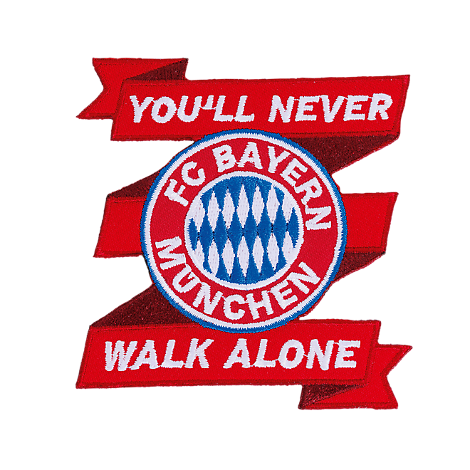 Sew-On Patch Youll never walk alone