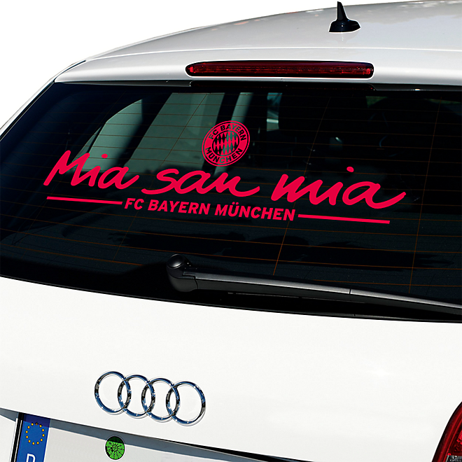 Car Sticker Mia San Mia