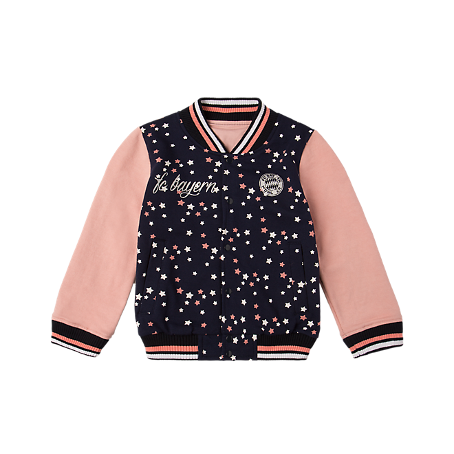 Baby College Jacket Stars