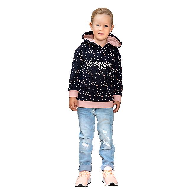 Sudadera con capucha de bebé estrellas