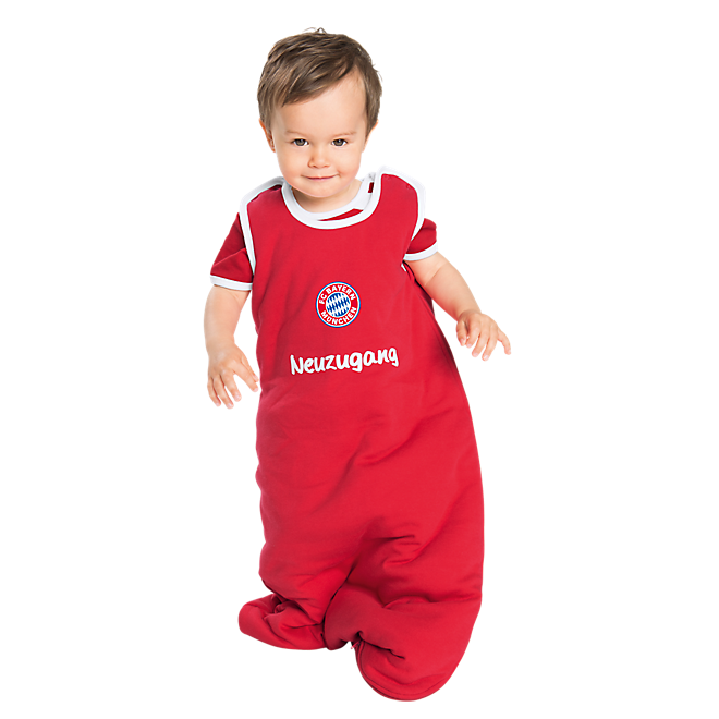 baby schlafsack logo offizieller fc bayern fanshop. Black Bedroom Furniture Sets. Home Design Ideas