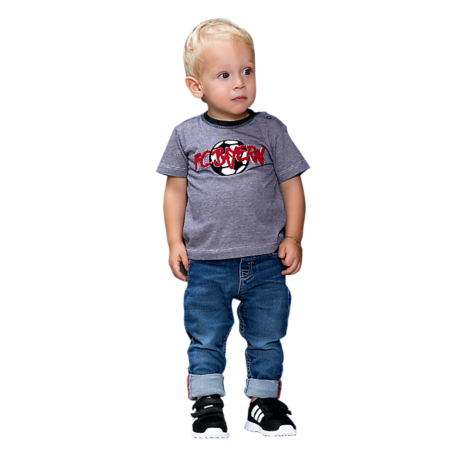 Baby T-Shirt Football Striped