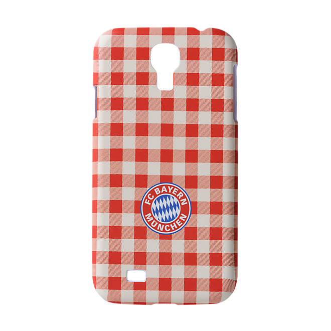 Back Cover Checkered Galaxy S4