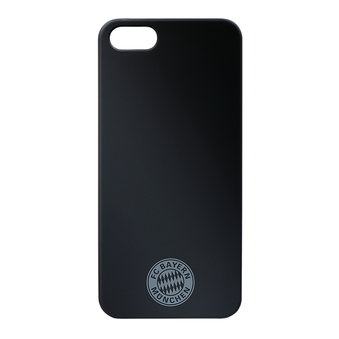 Back Cover Logo Schwarz iPhone 5/5S
