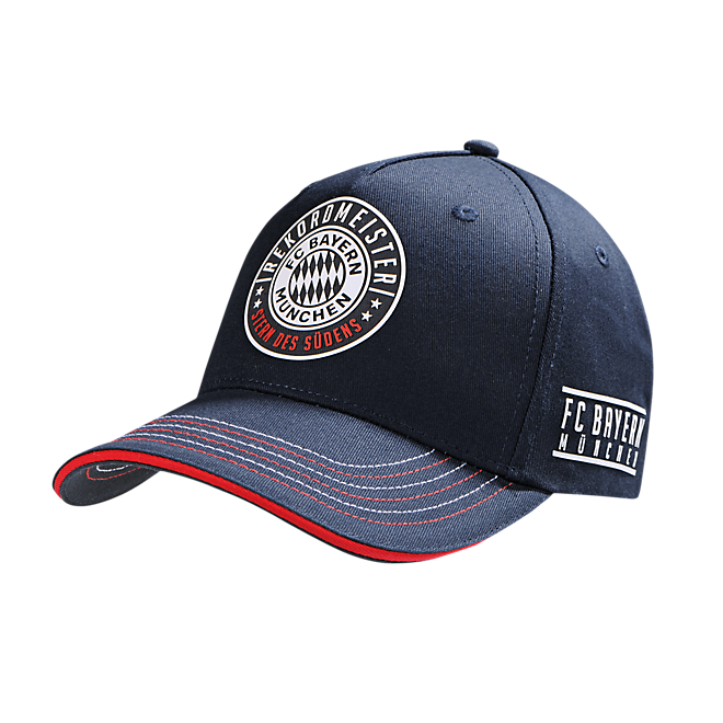 baseball cap rekordmeister official fc bayern online store. Black Bedroom Furniture Sets. Home Design Ideas