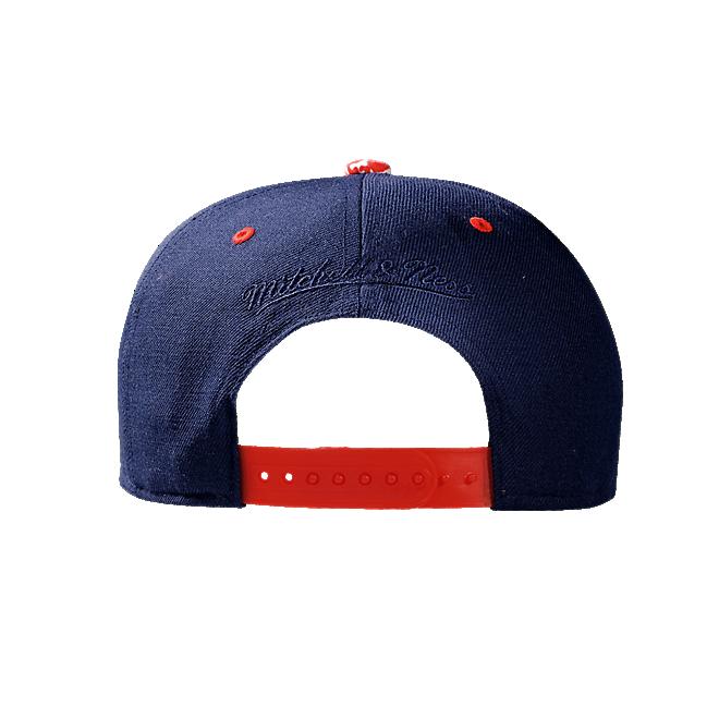 Snapback navy/red