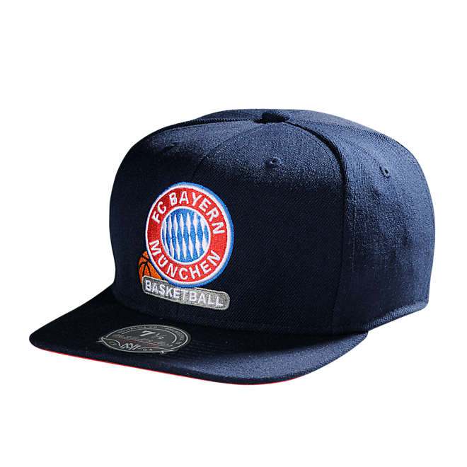 Basketball Baseballcap blue RF (Mitchell & Ness)
