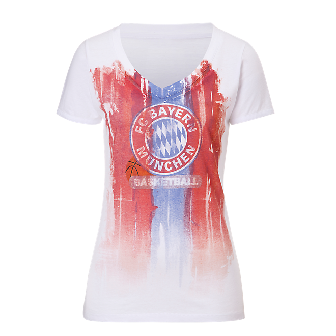 Basketball Damen T-Shirt Logo