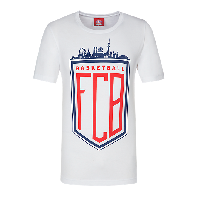 Basketball T-Shirt München Skyline