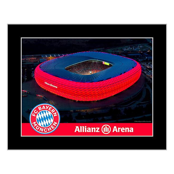 Fotografía vista aérea Arena Allianz
