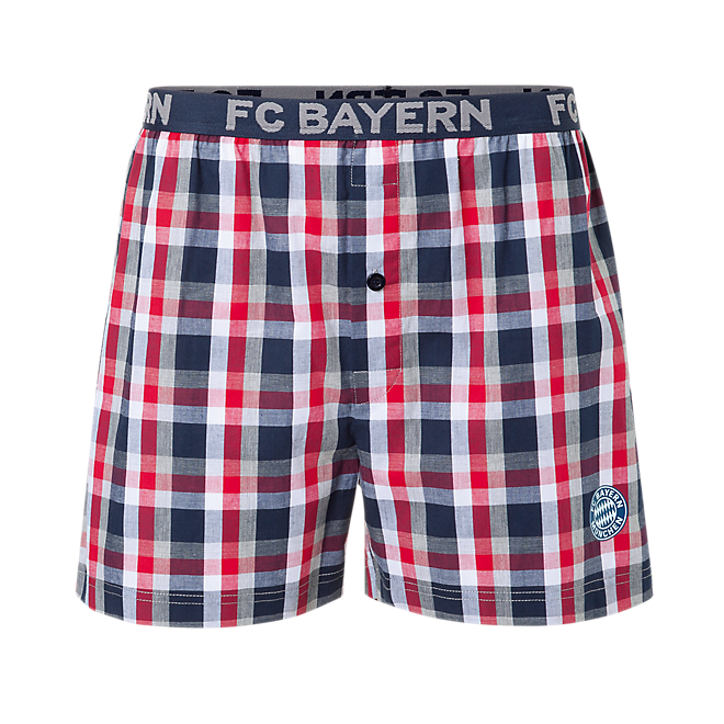 Checked Boxer Shorts