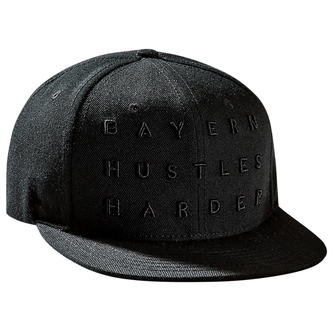 Cap Basketball Hustles Harder black