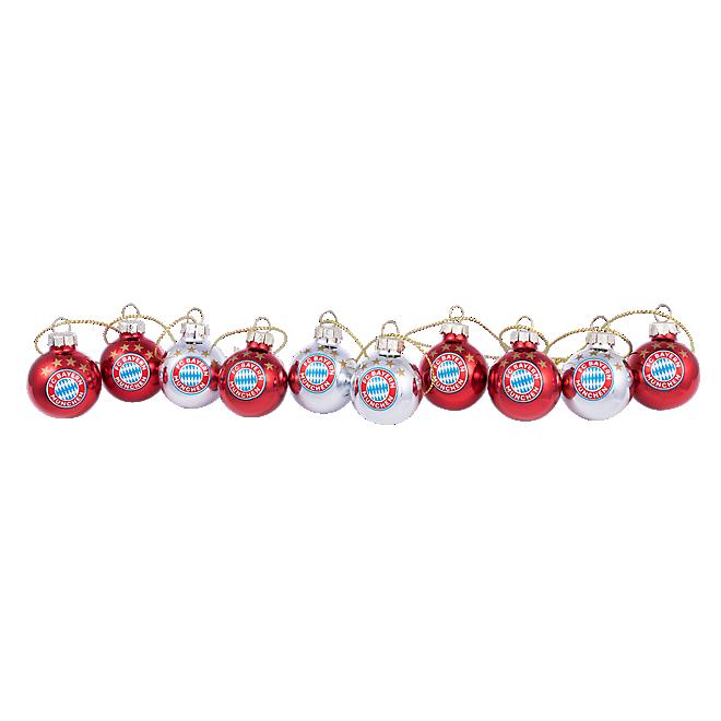 Christmas Baubles 3 cm, Set of 10