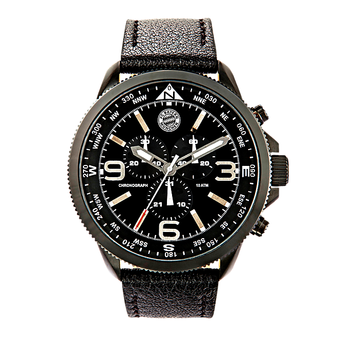 Chronograph Watch black