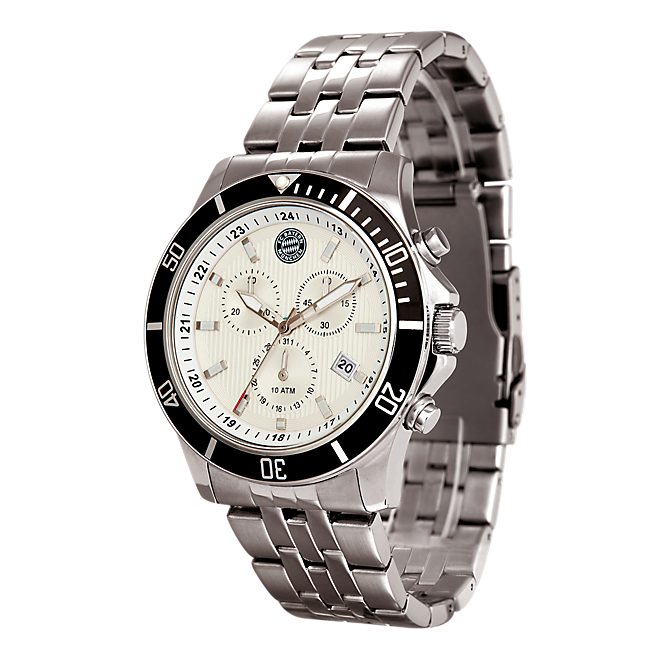 Chronograph Watch silver