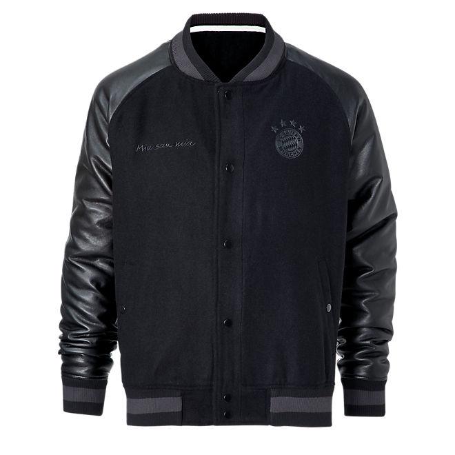 college jacket official fc bayern online store. Black Bedroom Furniture Sets. Home Design Ideas