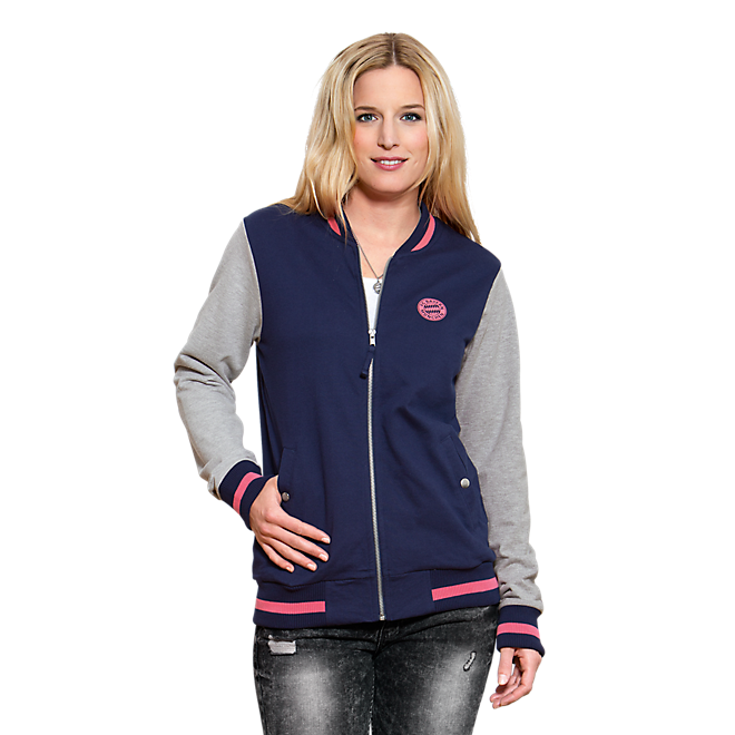 Ladies College Jacket Floral