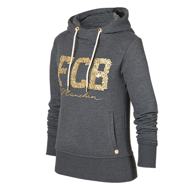 Hoodie Lady FCB München anthracite