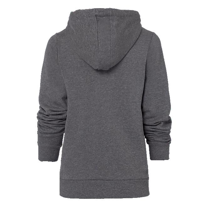 Damen Hoodie Glitter Logo Grey