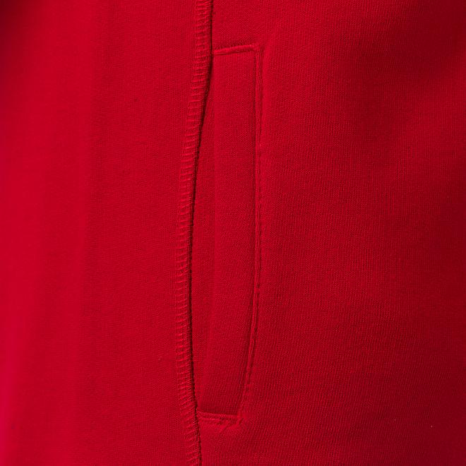 Damen Hoodie Glitter Logo Red