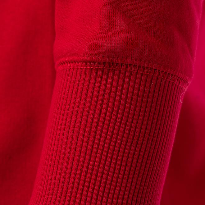 Sudadera con capucha Dama Logotipo Brillante rojo