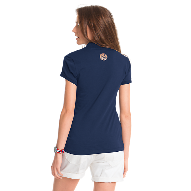 Rose-Gold FC Bayern Polo Shirt Lady