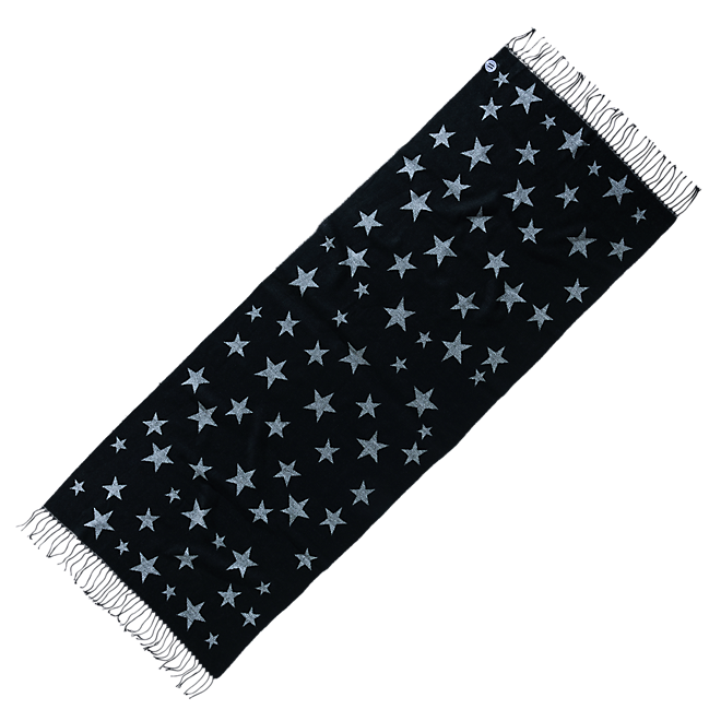 Womens Scarf Star Print