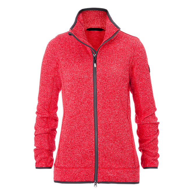 Knit Fleece Jacket lady light