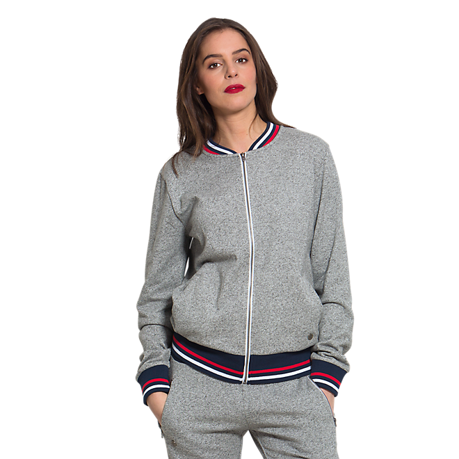 Zip Jacket Lady grey