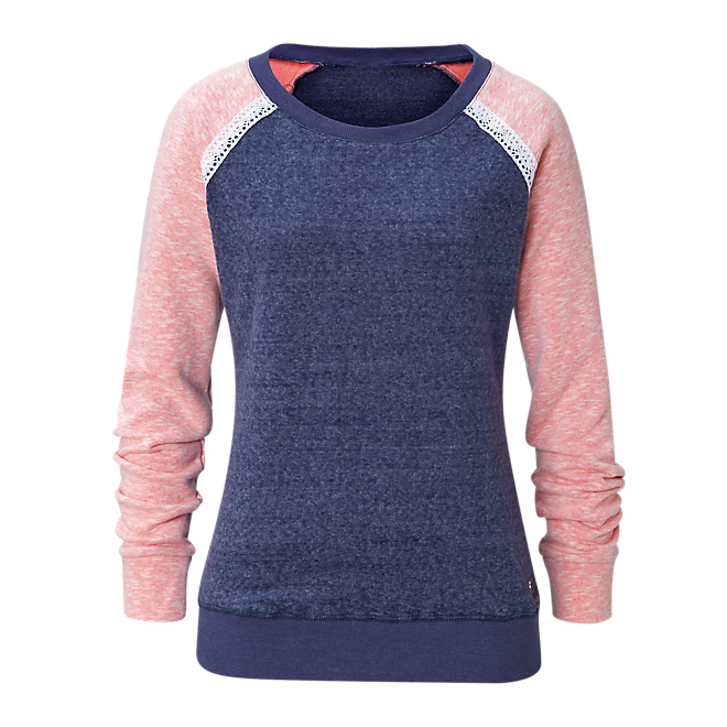 Ladies Sweatshirt Lace