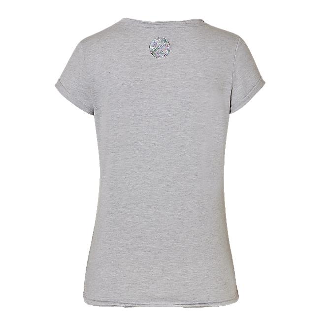 Damen T-Shirt Bayern München grau-melange