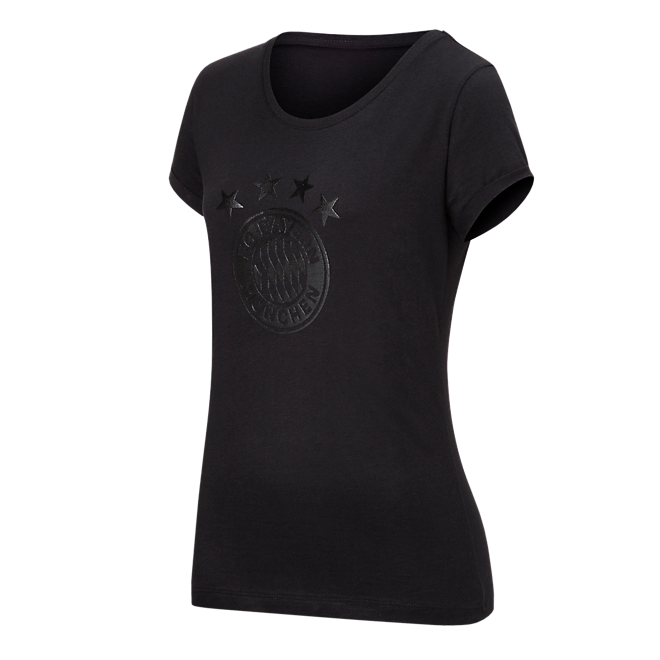 T-Shirt Black Logo Lady