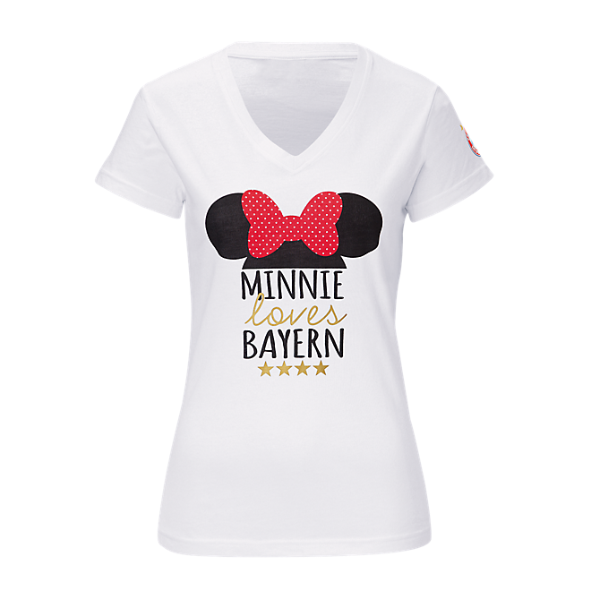 Damen T-Shirt Disney Minnie Mouse