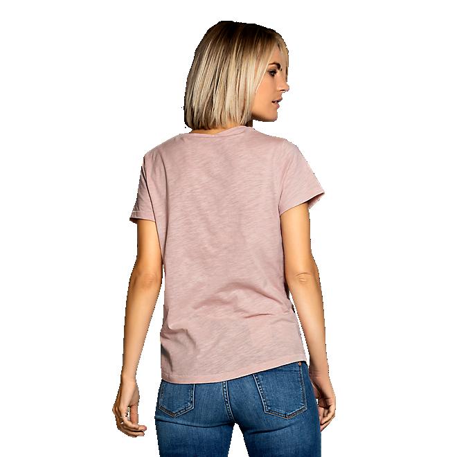 Damen T-Shirt Glitter Logo