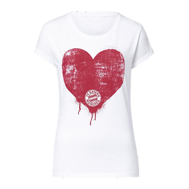 Damen T-Shirt Herz