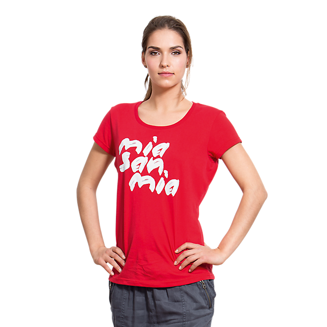Ladies T-Shirt Mia san mia
