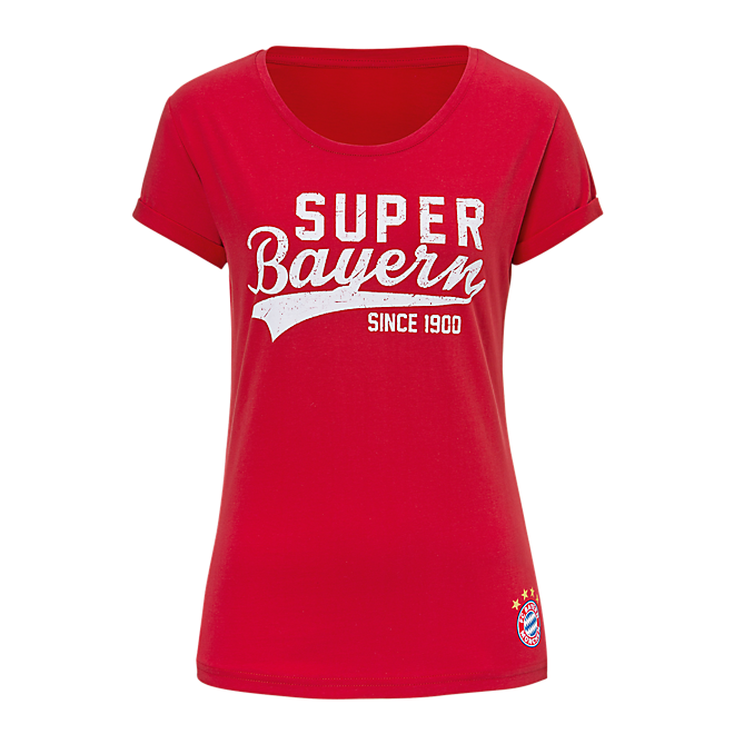 Damen T-Shirt Super Bayern