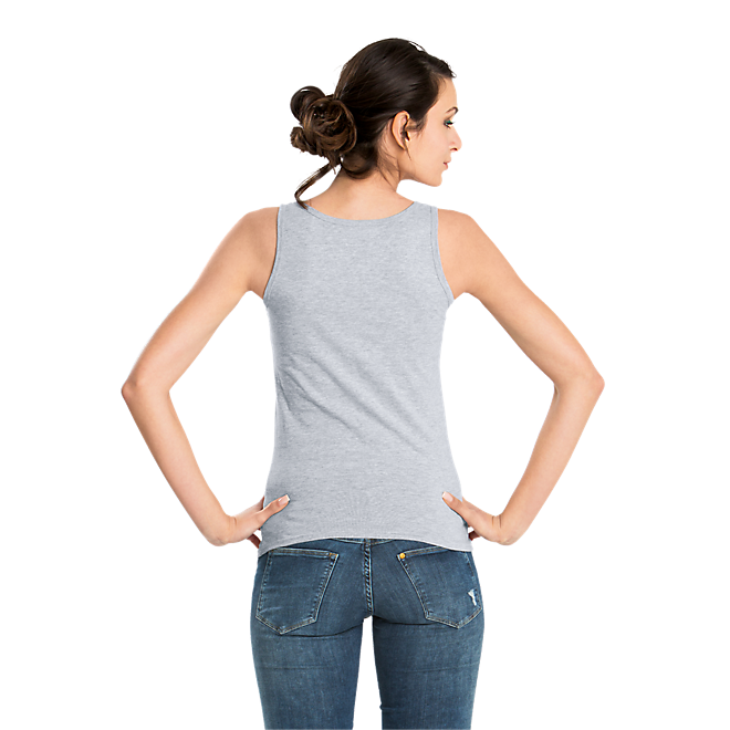 Tank Top Lady Glitter Logo