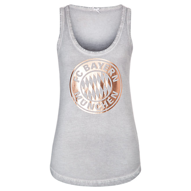 Damen Tank Top rose-gold Logo